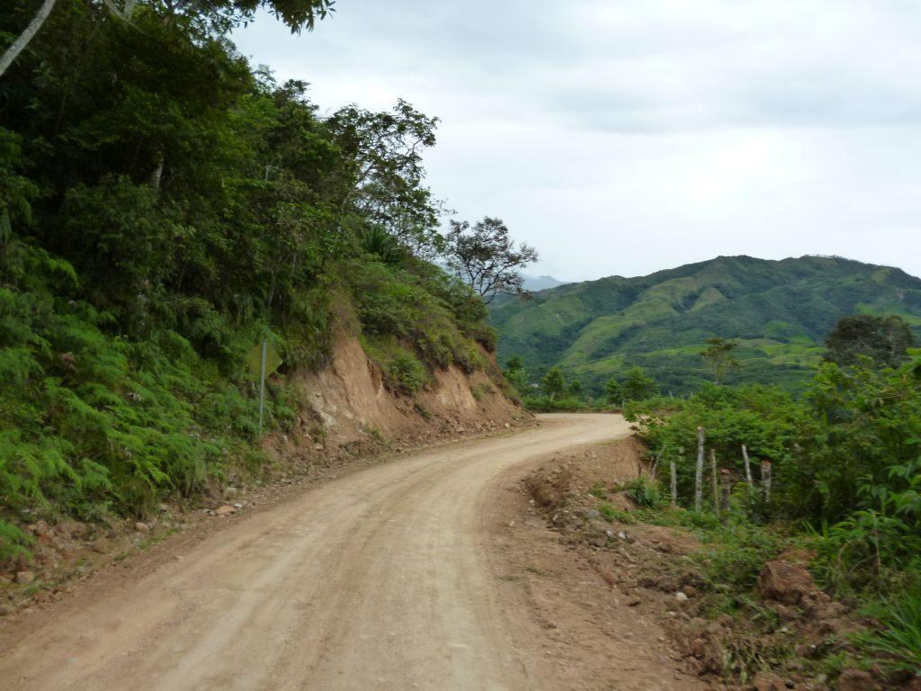 Reisroute van Zumba naar La Balsa
