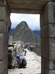 Machu Picchu entrance gate