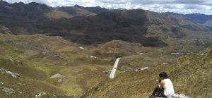 Solo travelers in Cajas Ecuador