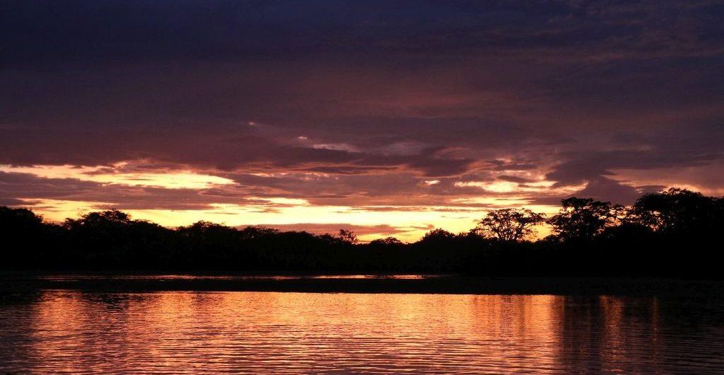 Sunset Laguna Grande Cuyabeno