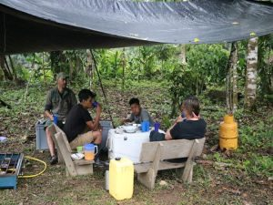 Picknick Amazon camping tour