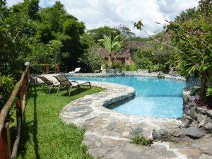 Swimming pool Izhcayluma Vilcabamba