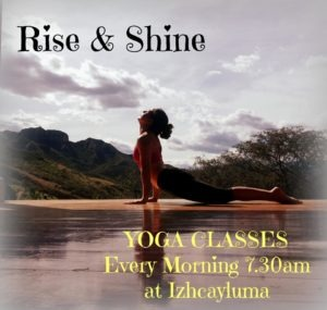 Yoga at Izhcayluma in Vilcabamba Ecuador
