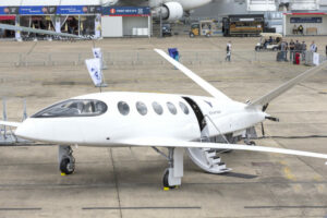 Sustainable tourism by electric plane