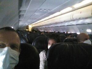 Flying in Ecuador during Corona crisis